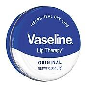 Vaseline® Lip Therapy® Lip Balm Original Tin, .6 oz. (53647)