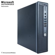 HP EliteDesk 800 G1 Desktop Computer, Intel Core i5-4570S, 240G SSD, Ultra Small Form Factor, Refurbished