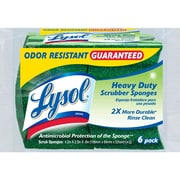 Lysol 575076PDQ Durable Scrub Sponges - Heavy Duty (6 pack)