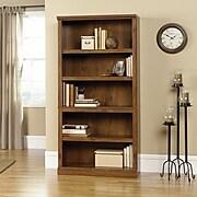 Sauder Select Collection 5-Shelf Bookcase, Oiled Oak (410367)