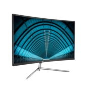 "AOC Monitor 32"" Class Curved VA Panel Full HD 1920x1080 4ms FlickerFree VGA HDMI DisplayPort C32V1Q"