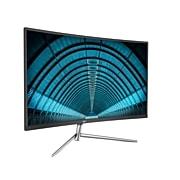"AOC C32V1Q 32"" LCD Monitor, Black/Silver"