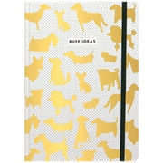 JAM Paper® Journal with Ruff Ideas Design, 5 3/4 x 8 1/4, 160 Lined Pages (377234316)
