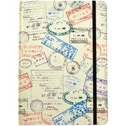 JAM Paper® Journal with Passport Design, 5 3/4 x 8 1/4, 160 Lined Pages (377234323)