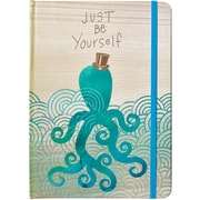 JAM Paper® Journal with Top Hat Octopus Design, 5 3/4 x 8 1/4, 160 Lined Pages (377234315)