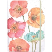 JAM Paper® Journal with Gilded Poppies Design, 5 3/4 x 8 1/4, 160 Lined Pages (377234322)