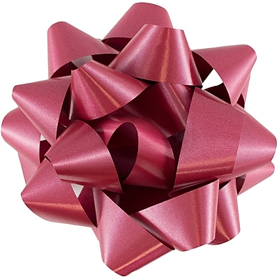 JAM Paper Gift Bows, Large, 7 Diameter,