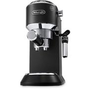 DeLonghi Dedica Deluxe 15-Bar Pump Espresso Machine with Rapid Cappuccino System in Black (EC685W)