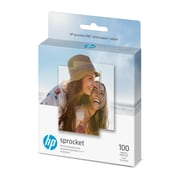 "HP Sprocket Zink Photo Paper, 2"" x 3"", 100 sheets (1DE40A)"