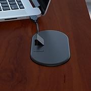 Bush Business Furniture Cubix Left Corner Desk, Hansen Cherry/Galaxy (WC94462)