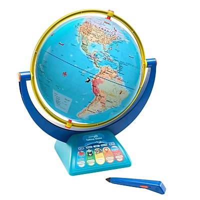 Educational Insights GeoSafari Jr. Talking Globe, Blue