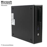 HP EliteDesk 800 G2 SFF Desktop Computer, Intel Core i5-6500, 240G SSD, English/Spanish, Refurbished