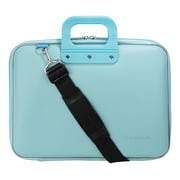 SumacLife Travel Case Shoulder Bag fits 13 to 14 inch Laptops,  Aqua (PT_NBKLEA563)