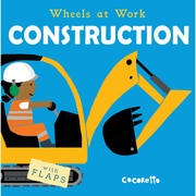 Wheels At Work, Construction, Board Book (9781786280831)