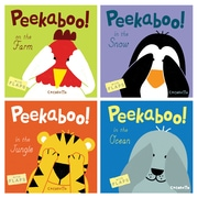 Peekaboo!, Set of 4 Board Books (CPYPEEKABOOSET)