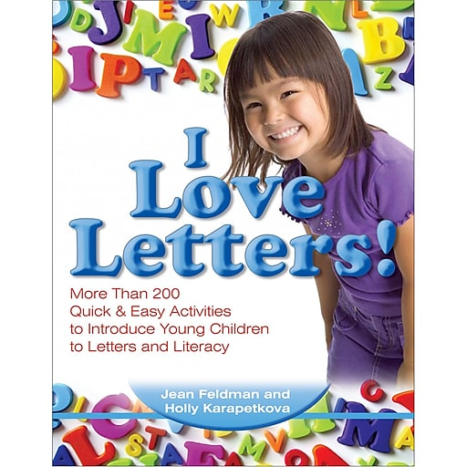 """""""I Love Letters!"""" Young Children 3-6 Years, Activity and Game Book (GR-19206)"""