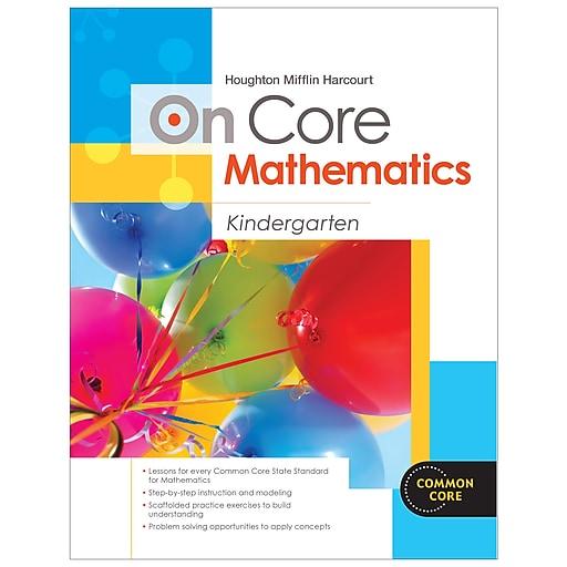 Houghton Mifflin On-Core Mathematics Bundle Grade K, Student Worktext and Teacher Edition, Paperback (9780547872353)
