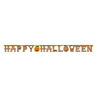 Creative Converting Happy Halloween Party Banner (324749)