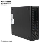 HP ProDesk 400 G1 SFF Desktop Computer, Intel Core I5 4570, 8G DDR3, 360G SSD, English/Spanish, Refurbished (S18VFTHPDT01P25)