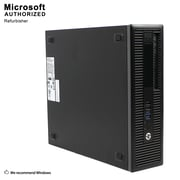 HP ProDesk 400 G1 SFF Desktop Computer, Intel Core I3 4130, 8G DDR3, 512G SSD, English/Spanish, Refurbished