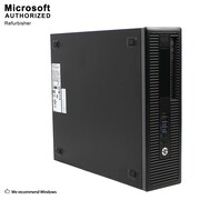 HP ProDesk 400 G1 SFF Desktop Computer, Intel Core I3 4130, 16G DDR3, 360G SSD, English/Spanish, Refurbished