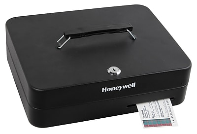 Honeywell Key Lock Deluxe Cash Box (6113)