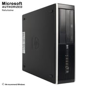 HP Compaq Pro 6300 Small Form Factor Refurbished Desktop Computer, Intel Core i3 3220, 16GB Memory, 360GB SSD
