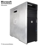 HP Z620 Desktop Computer, Intel Xeon E5-2609, 16GB DDR3, 120GB SSD+3TB HDD, 1GB Video Card, Tower, Refurbished (EN/ESP)