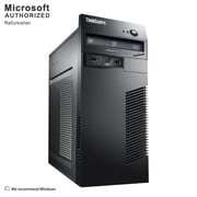 Lenovo ThinkCentre M72E Tower Desktop Computer, Intel® Core™ i5-3470, 8G DDR3, 240G SSD, Refurbished (S18VFTLEDT02P18)