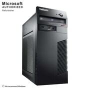 Lenovo ThinkCentre M72E Tower Desktop Computer, Intel® Core™ i5-3470, 16G DDR3, 360G SSD, Refurbished (S18VFTLEDT02P31)
