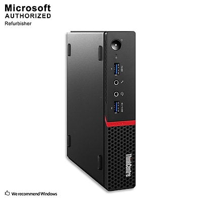 Lenovo ThinkCentre M600 Tiny  Desktop Computer, Intel Celeron N3000, 8G DDR3, 240G SSD, English/Spanish, Refurbished