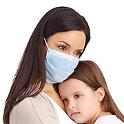 CURAD BioMask with Pleats Antiviral Isolation Mask (CUR384S)