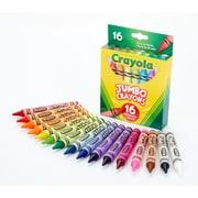 Crayola Jumbo Crayons, 16/Pack (52-0390)