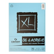 "Canson XL Oil & Acrylic Canvas Pad, 9"" x 12"" (400026824)"