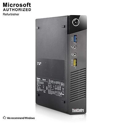 Lenovo ThinkCentre M73 Desktop Computer, Intel Core i5-4570T, 8GB DDR3, 240GB SSD, Tiny Desktop, Refurbished (EN/ESP)