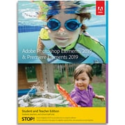 Adobe Photoshop Elements 2019 & Premiere Elements 2019 Student & Teacher Edition for 1 User, Mac, Download (65292039)