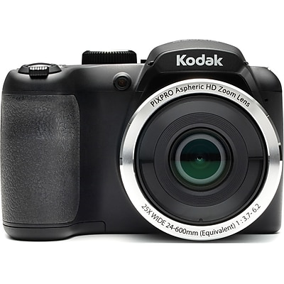 Kodak Pixpro Az252 Astro Zoom Digital Camera X Optical Zoom 24mm Wide 720p Full Hd Video Black