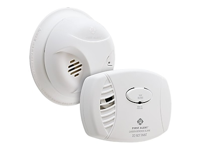 First Alert Combo Pack Battery-Powered Carbon Monoxide and Smoke Detector (SCO403)