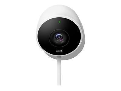 Nest Cam Outdoor Wi-Fi/Bluetooth Security Camera, White (4625558)