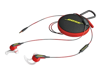 Bose SoundSport Headphones, Power Red (741776-0040)