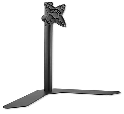 Mount-It! Height Adjustable Single Monitor Desk Stand for 17