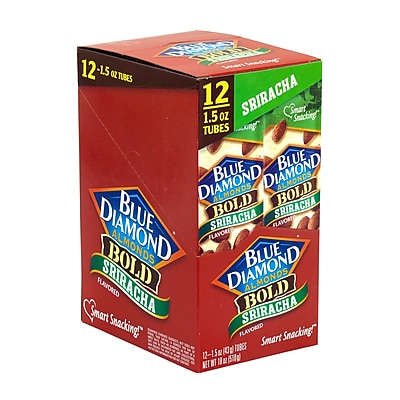BLUE DIAMOND Almonds Bold Sriracha, 1.5 oz, 12 Count (209-02633)