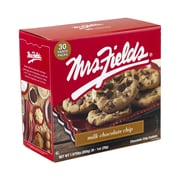 Mrs. Fields Milk Chocolate Chip Cookies, 1 oz., 30/Pack (212-00009)