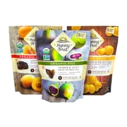 SUNNY FRUIT Organic Dried Fruit Variety Pack, 8.8 oz, 3 Pack (220-00810)