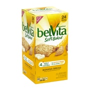 BELVITA Soft Baked Breakfast Biscuits Banana Bread, 1.76 oz, 24 Count (220-00815)