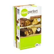 ZonePerfect Nutrition Bars Chocolate Peanut Butter & Fudge Graham, 1.58 oz, 24 Count (220-00818)