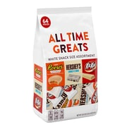 Hershey All Time Greats White Snack Size Assortment, 32.5 Ounce (246-00353)