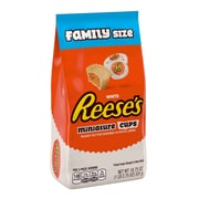 REESE'S White Peanut Butter Cups Miniatures, 18.75 oz, 2 Pack (246-00354)