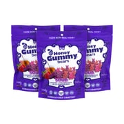 LOVELY Sour Honey Gummy Bears, 6 oz, 3 Pack (256-00008)