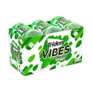 Trident Vibes Sugar-Free Gum, Spearmint, 40 Pieces, 6/Pack (24372187)